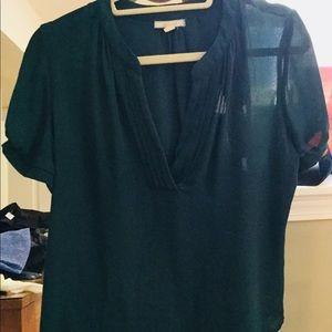 Pleiome Hunter green light blouse